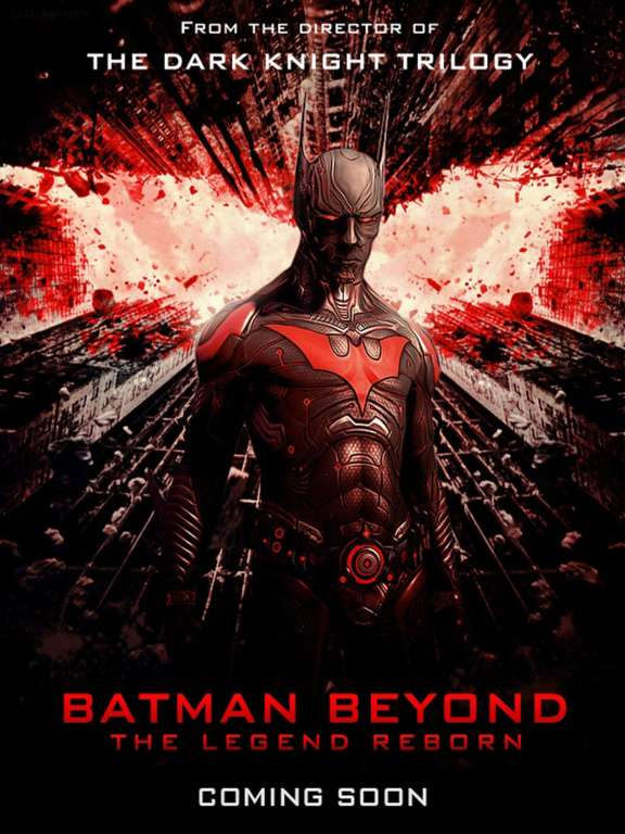 Vamers - Artistry - Celebrate 15 Years of Batman Beyond with these Fan-Made Posters -Pasta Shushi