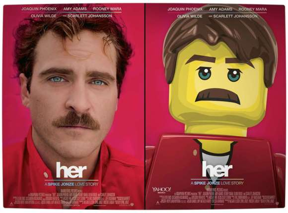 Vamers - Geekosphere - Artistry - 2014's Best Picture Oscar Nominees Recreated as Lego Movies - Her - Final