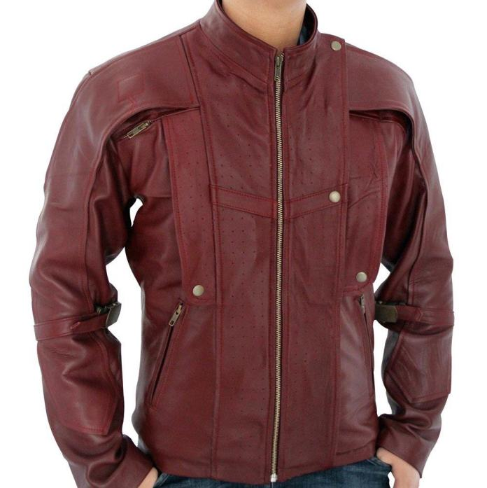 Vamers - Geekmas Gift Guide - Faux Leather Star Lord Jacket Replica inspired by Guardians of the Galaxy