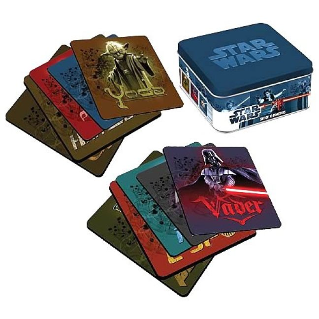 Vamers - Geekmas Gift Guide - Star Wars Coasters