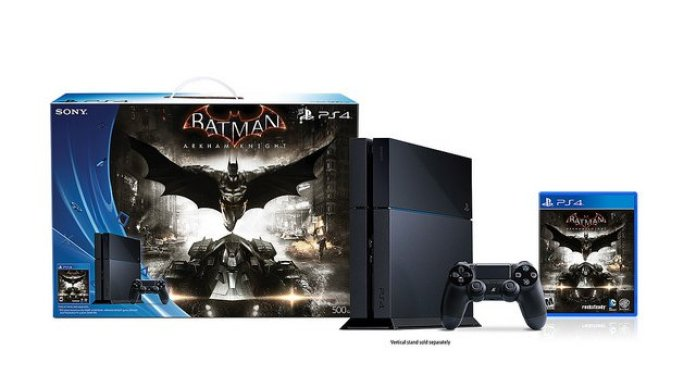 Vamers - FYI - Gaming - Sony Reveals Limited Edition Arkham Knight PlayStation 4 Console 04