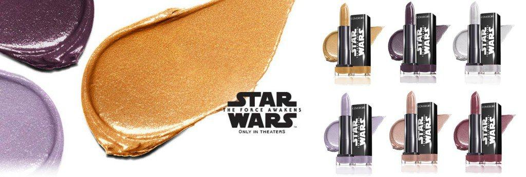 Vamers - FYI - Lifestyle - Awaken The Force With COVERGIRL Star Wars Makeup! Which Side Will You Choose - Light Side and Dark Side Lipstick