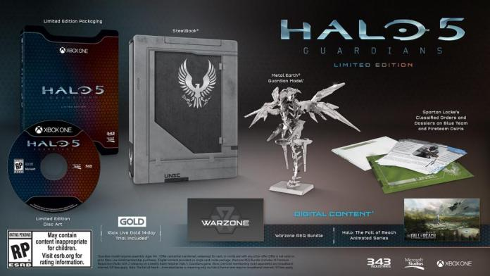 Vamers - FYI - Gaming - Halo 5 - Guardians Limited Collector's Edition Detailed and Where to Buy - Halo 5 Guadrians Limited Edition Details