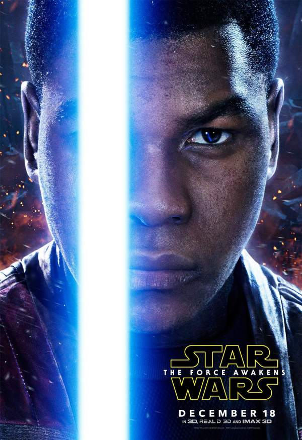 Official Character Posters Star Wars Episode Vii