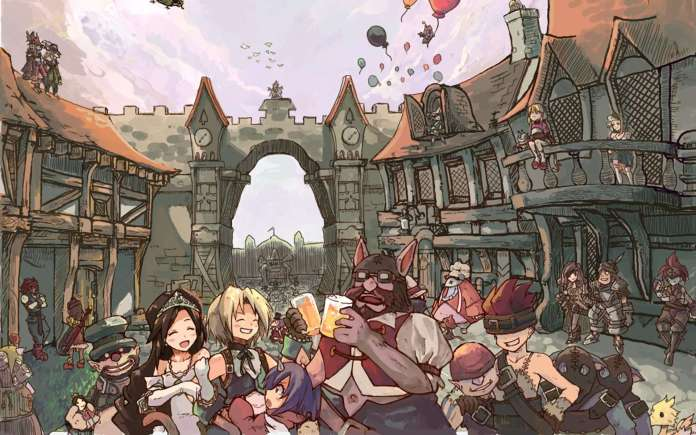 Vamers - FYI - Gaming - Final Fantasy IX is coming to PC in 2016 - Cast