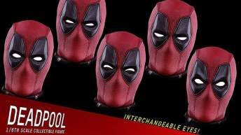 Vamers - FYI - Geekosphere - Collectibles - Hot Toys Deadpool Six Scale Figure is Full of Sexy Sass - Changeable Eyes