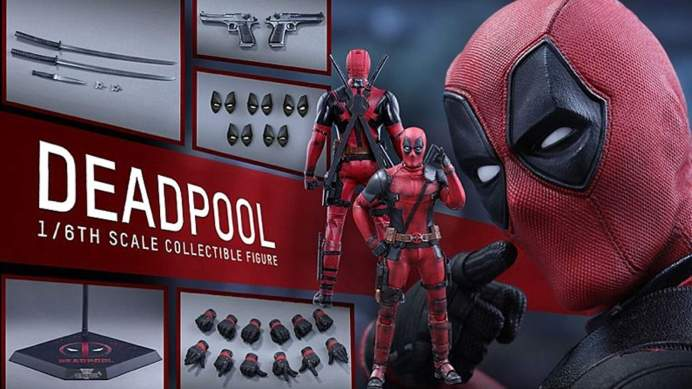 Vamers - FYI - Geekosphere - Collectibles - Hot Toys Deadpool Six Scale Figure is Full of Sexy Sass - Product Detail