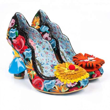 Vamers - Lifestyle - Fashion - Step into Wonderland with these Irregular Disney Inspired Shoes - Flowers Can't Talk 01