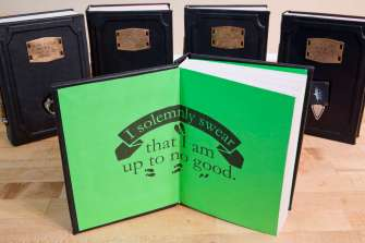 Vamers - FYI - Ermahgerd - SUATMM - Riddikulus-ly Gorgeous Leather Harry Potter Books - 04