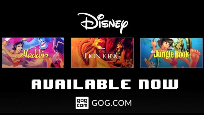 Vamers - FYI - Gaming - 16-Bit Disney Classics Now on GOG - Banner 02