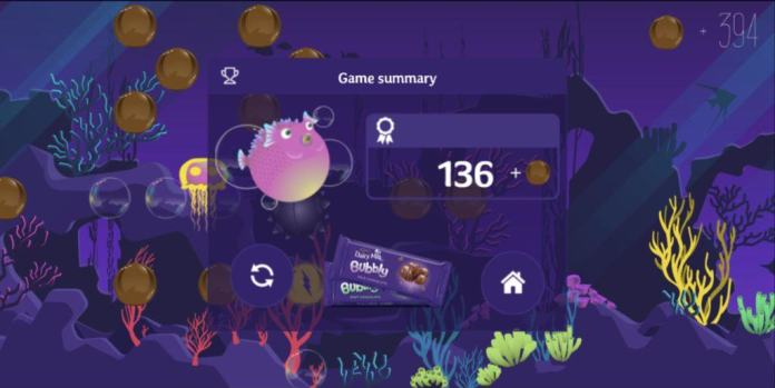 Vamers - FYI - Gaming - Win With Vamers - Watch Vamers Play Cadbury's Friends in a Fishtank and Win a R1000 Raru Voucher - In-Game 01