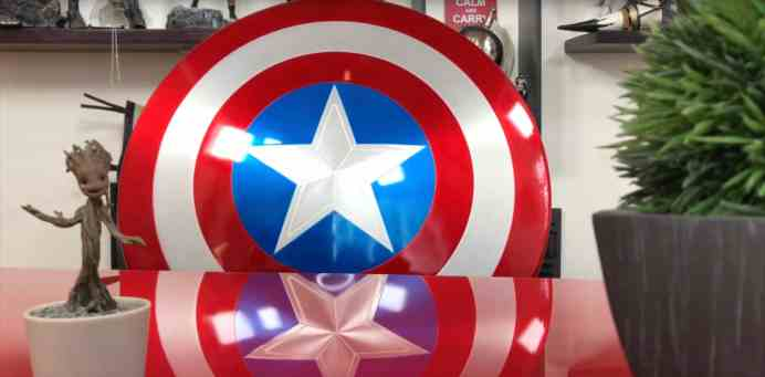 Vamers - FYI - Review - Hands-On - Unboxing the Marvel Legends 75th Anniversary Captain America Metal Shield from Hasbro - 2