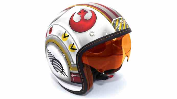 Vamers - Lifestyle - Whether Jedi, Sith or Rebel, these Star Wars Motorcycle Helmets are Fantastic - 2