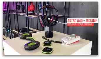 Vamers - Technology - Logitech Product Showcase Event 2017 - Astro A40