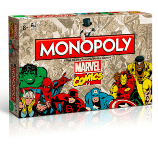 Vamers-Geek-Chic- Lifestyle--Accessories-Marvel-Mantality-Monopoly - Marvel-Comics-Edition.