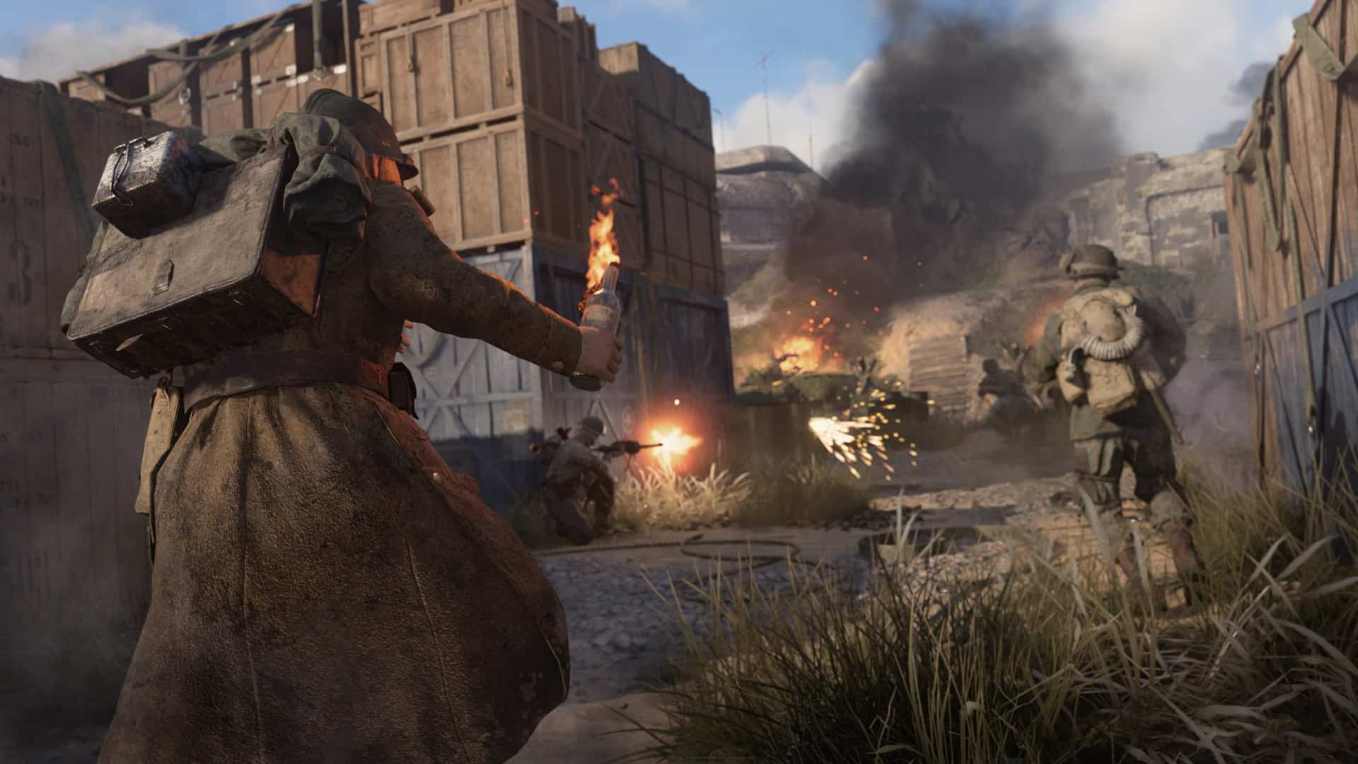 Call of Duty: World War II Shipment 1944 map now available
