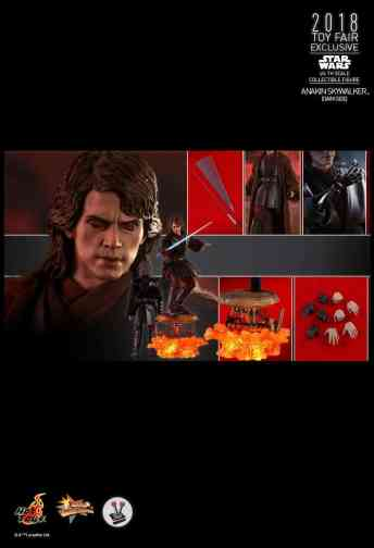 Vamers Store - Hot Toys - MMS486 - Star Wars Ep. III - Anakin SKywalker (Darkside) - Toy Fair Exclusive - 19