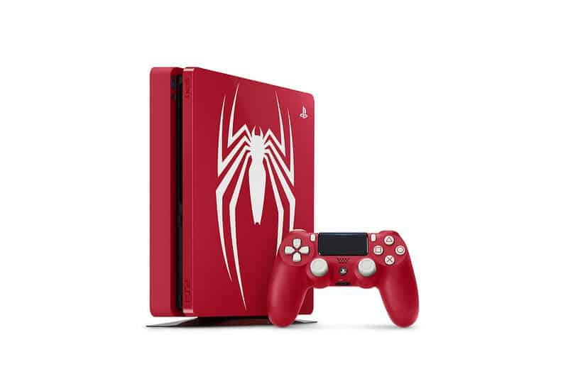 playstation 4 spider man limited edition console