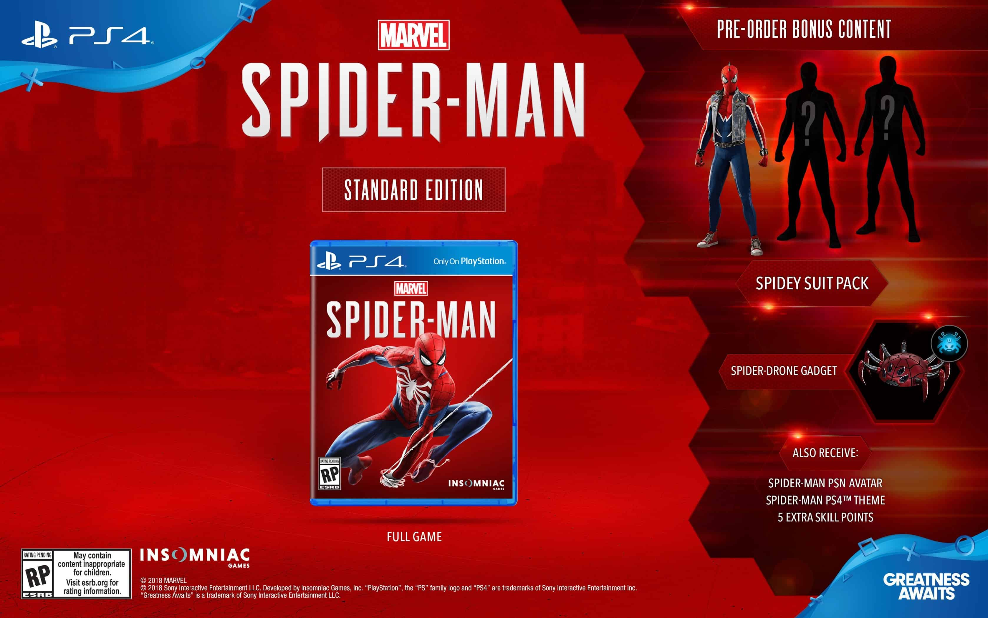 Marvels Spider Man Editions Detailed Which One Is Best For You Tekken 7 Collector Edition Ps4 When It Comes To The Different Standard As Might Expect Just Base Game And Nothing Else