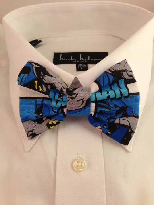 Vamers Store - South Africa - Merchandise - Apparel - Bowtie - DC Comics Batman Inspired Comic Print Bowtie 01