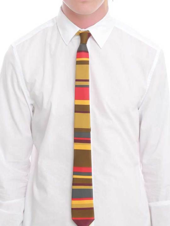 Vamers Store - Merchandise - Accessories - Necktie - Doctor Who The Fourth Doctor Necktie 03