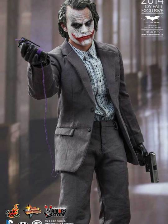 Hot Toys - MMS249-TFE - The Joker Bank Robber Version 2.0 - 02