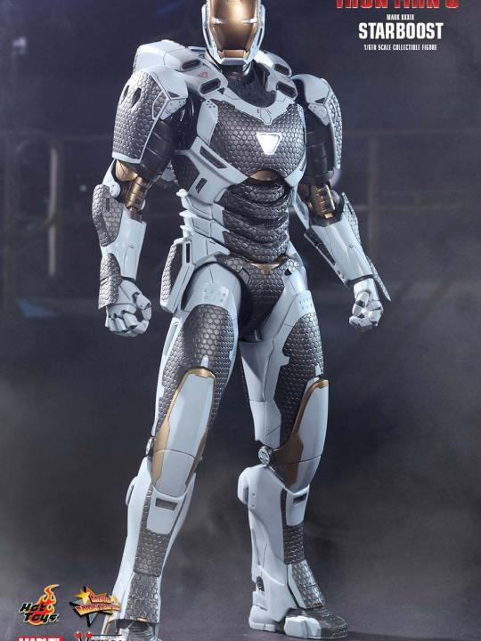 Vamers Store - Hot Toys - MMS214 - Iron Man 3 - Iron Man Mark XXXIX Starboost 01
