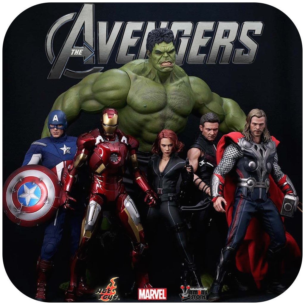 Vamers Store - Product Search Buttons - Hot Toys The Avengers Collectibles (Rounded)