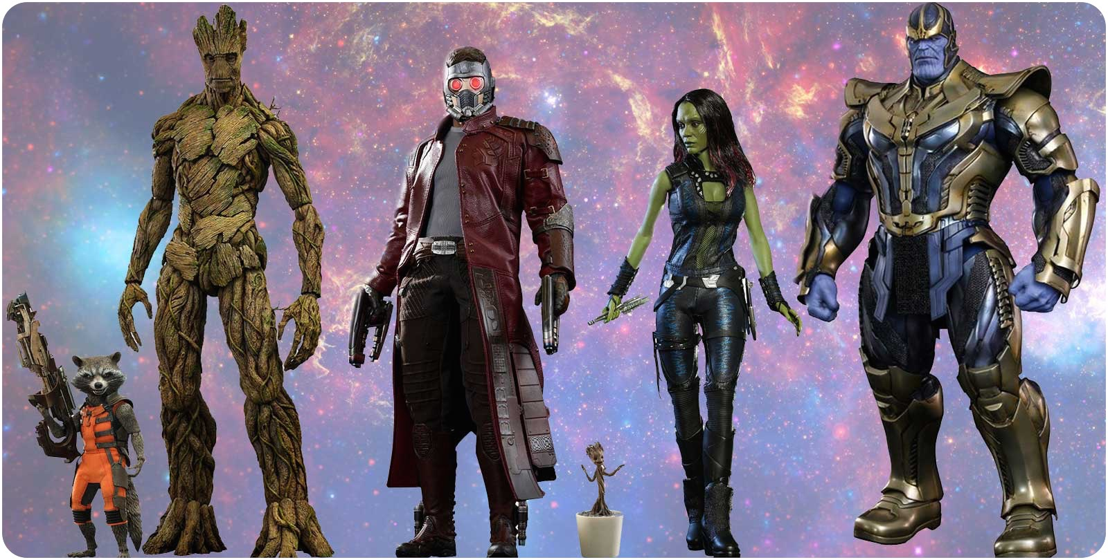 Vamers Store - Storefront Promotional Banner - Hot Toys Marvel's Guardians of the Galaxy Page (Large)