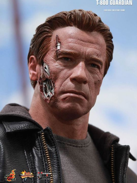 Vamers Store - Hot Toys - MMS307 - Terminator Genisys - T-800 Guardian 17