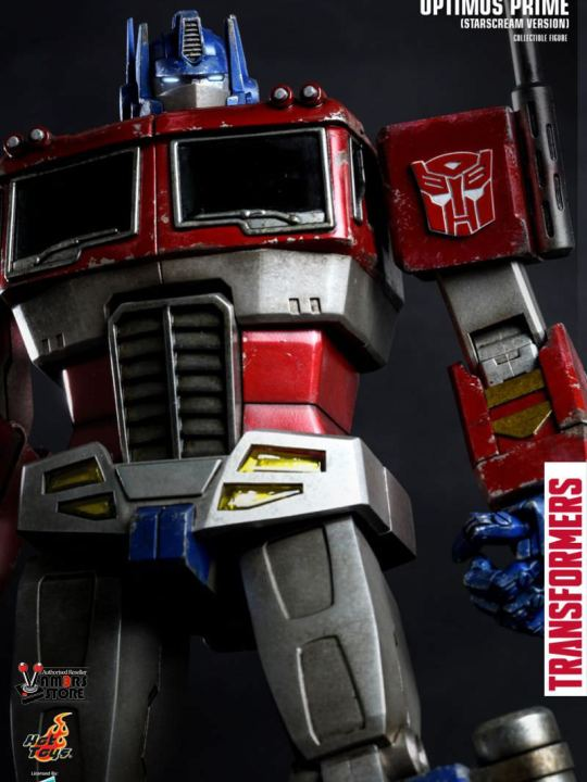 Vamers Store - Hot Toys - TF001 - The Transformers Generation 1 - Optimus Prime (Starscream Version) 13