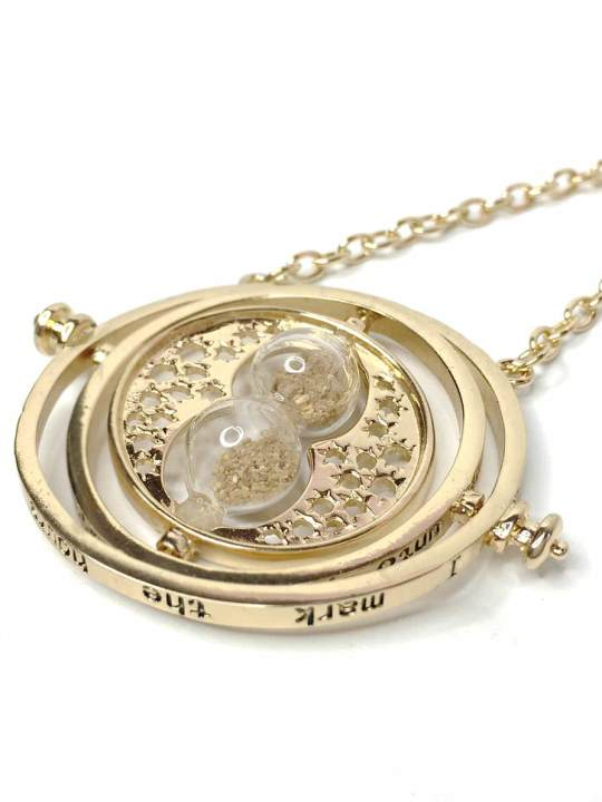 Vamers Store - Jewellery - 18k Gold hermione Tiime Turner inspired by Harry Potter - VS-JWL-NKLC-HPMTT - 02