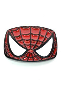Spider-Man Face Belt Buckle Inspired by Marvel Comics