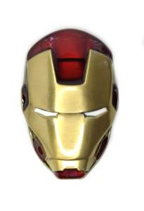3D Iron Man Helmet Belt Buckle Inspired by Marvel Comics