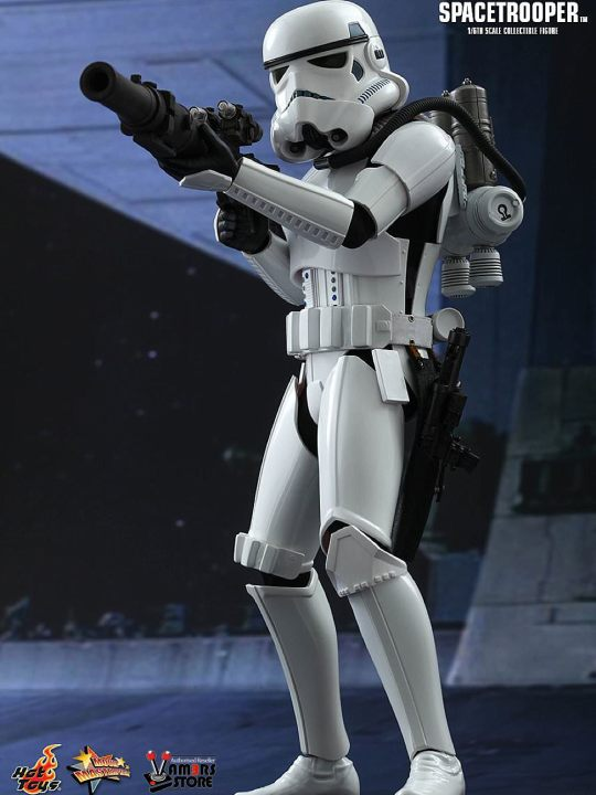 Vamers Store - Hot Toys - MMS291 - Disney's Star Wars Episode IV A New Hope - Spacetrooper - 01