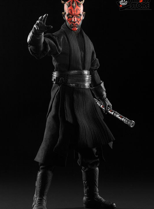 Vamers Store - Sideshow Collectibles - VS-SSC-6SF-SWDMDN - Star Wars Episode I The Phantm Menace - Dart Maul Duel on Naboo Limited Edition Sixth Scale Collectible - 05