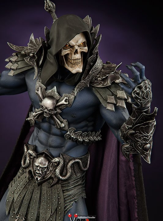 Vamers Store - Sideshow Collectibles - VS-SSC-STU-MOTUHMSK - Masters of the Universe - Skeletor Statue - 07