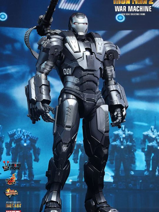 Vamers Store - Hot Toys - MMS331D13 - Iron Man 2 - Diecast War Machine 03
