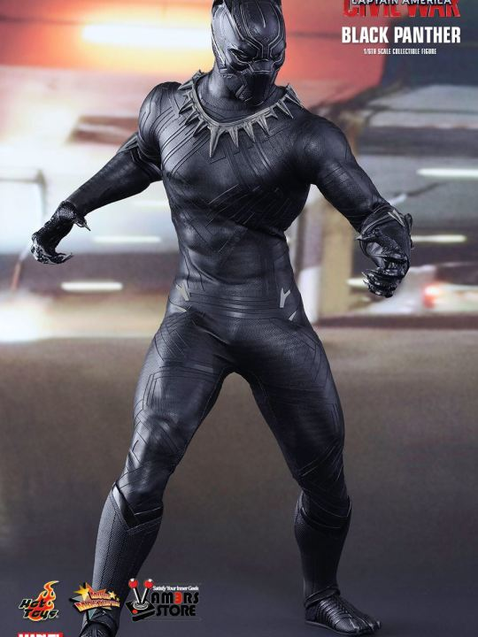 Vamers Store - Hot Toys - MMS363 - Marvel's Captain America Civil War - Black Panther - 02
