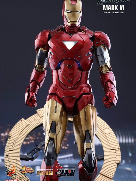 Vamers Store - Hot Toys - MMS378D16 - The Avengers - Iron Man Mark VI - 01