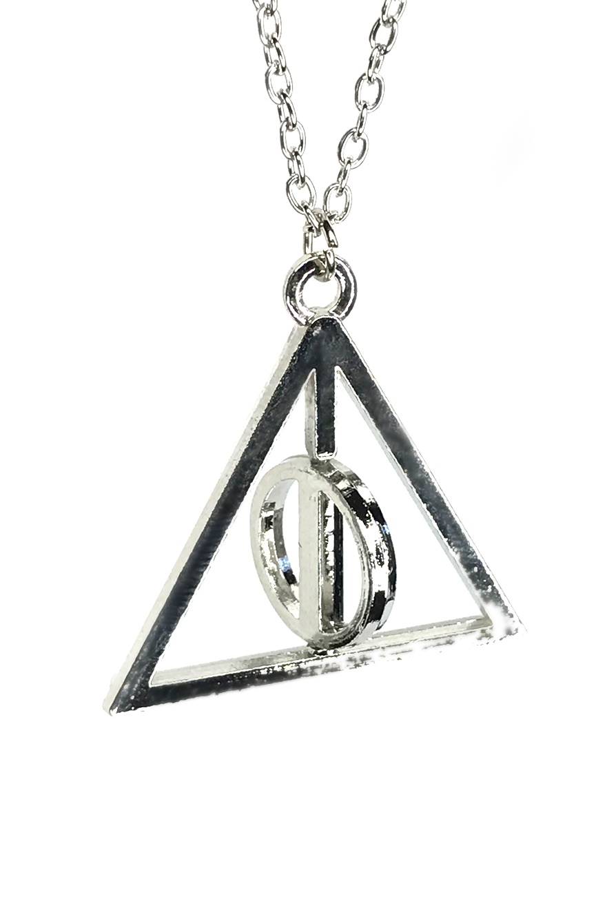 Deathly Hallows Symbol Necklace inspired by Harry Potter