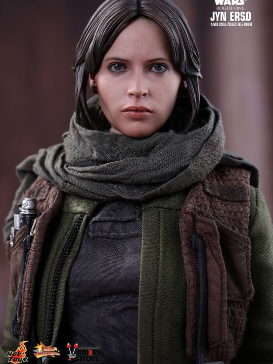 Vamers Store - Hot Toys - MMS404 - Disney's Star Wars Rogue One - Jyn Erso - 4