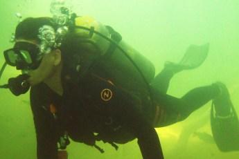 mergulho no rio kelm