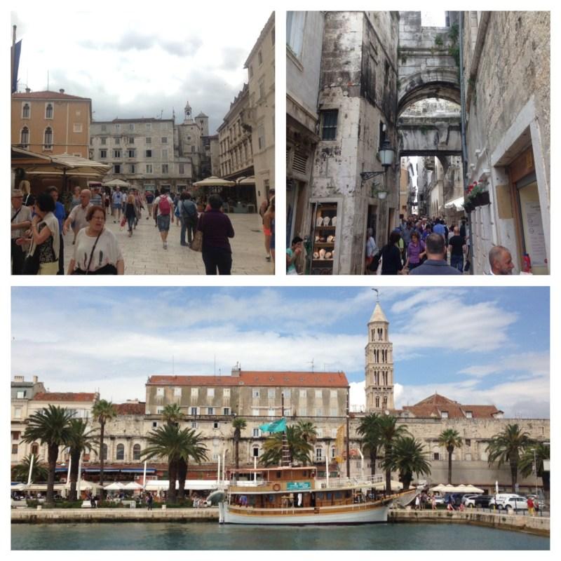 cidade de split na Croacia
