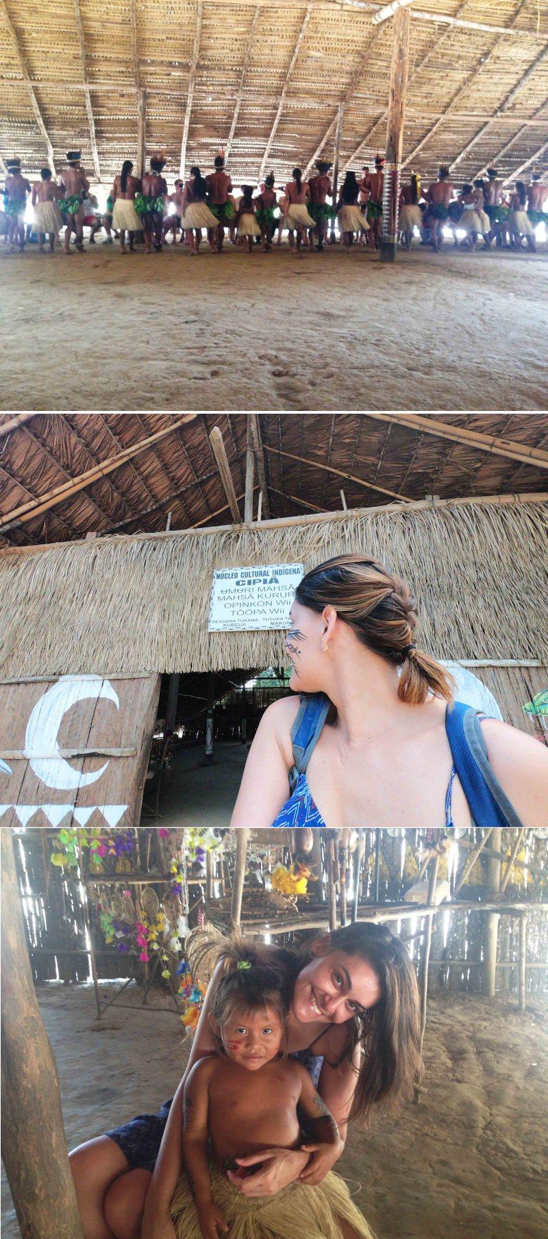 visita a aldeia indígena em manaus