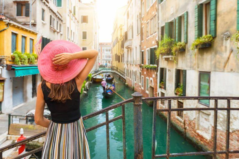 Imagem da belíssima cidade da Europa: Veneza, na Itália