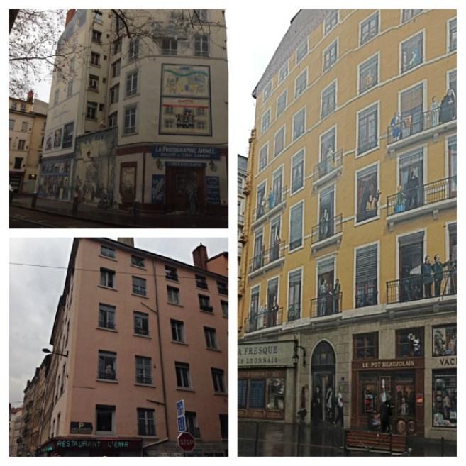 O que fazer em Lyon - mur des canuts em lyon