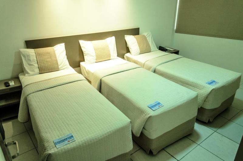 quarto do hotel nordeasy em campina grande