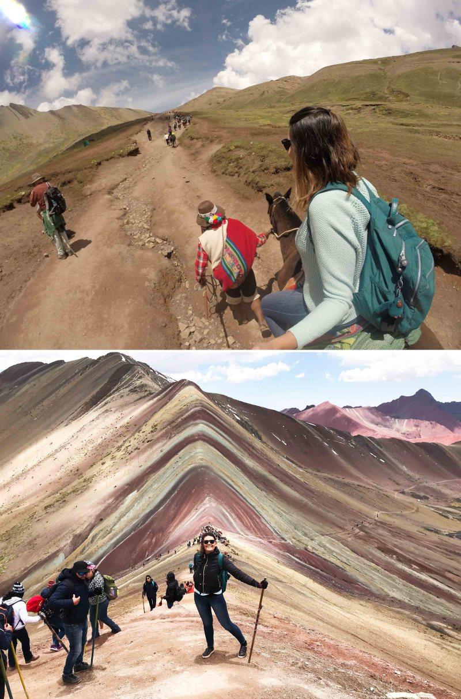 montanha de 7 cores perto de cusco