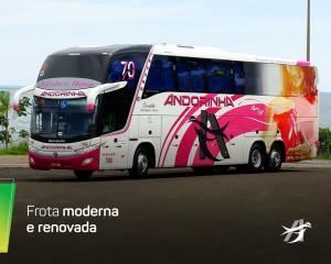 Andorinha Outubro Rosa 300x240 - Pinturas dos ônibus – O que há de mais moderno e chamativo em design de frota